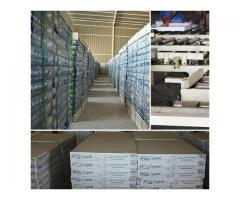 شرکت مروارید بندر پل تولیدکننده پانل های گچی و تایل گچی روکش PVC با برند (Gypol)