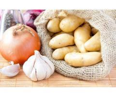 تولید و پخش و صادرات انواع سیب زمینی  و سیر و پیاز