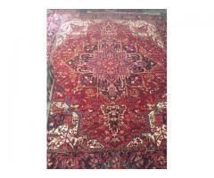 فرش نه متر دست بافت مهروان اصل كم كاركرد