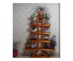 فروش عمده و تکی انواع استندهای چوبی گلدان