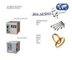 تجهیزات آزمایشگاهی و صنعتی -  مولد تولید گاز- انواع ستون های HPLC و GC