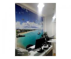 چاپ روی شیشه با طرح دلخواه شما در خانه طراحان سام