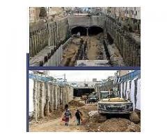 اجرای پروژه حفروپوشش