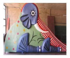 سرسره فیلی فایبرگلاس