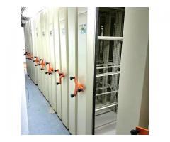 بایگانی ریلی کمدبایگانی ریلی سیستم بایگانی متحرک کارسیس
